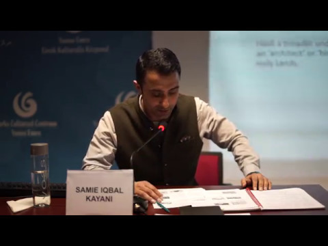 Urbanisation&Civilisation Seminar Series: Samie Iqbal Kayani Part 1