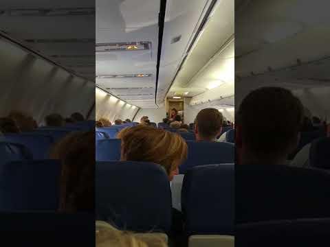 Boris the Funny Southwest flight attendant
