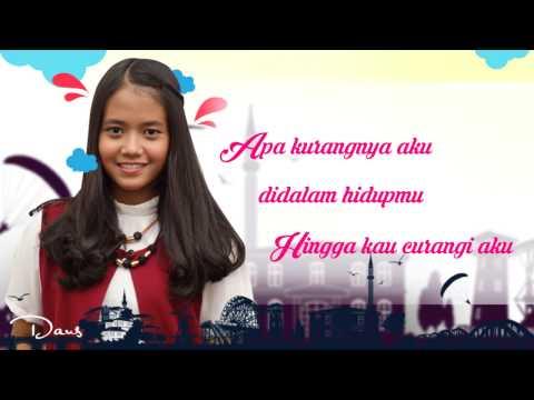 Lirik  Asal Kau Bahagia -  Armada Cover by Hanin Dhiya