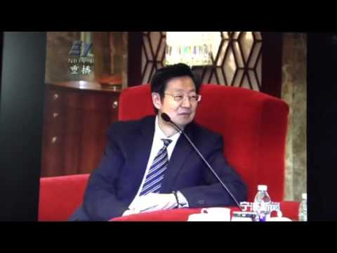 Ningbo City Party Secretary (Mayor) meeting ACCS China CEO Delegation led by President Robert Sun
