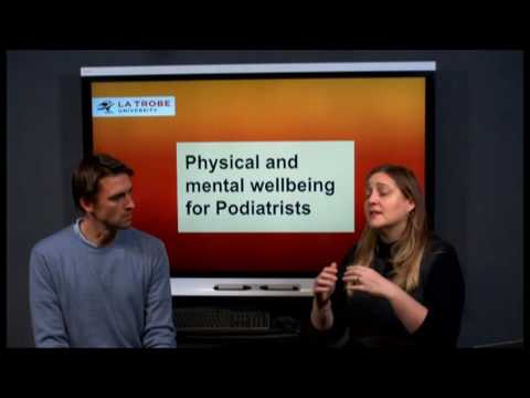 Physical and mental wellbeing for Podiatrists