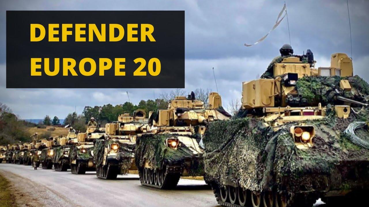 DEFENDER EUROPE 2020. Vi spiego cosa sta succedendo ...