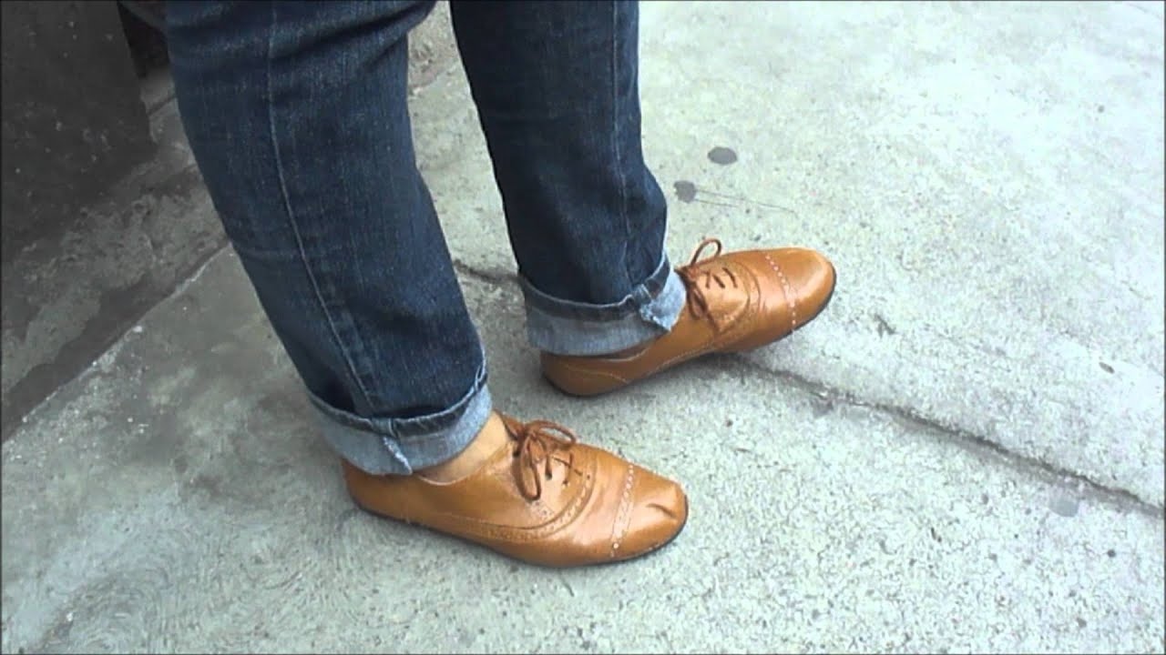 Zapatos Salon Color Camel Look Denim And Caramel Youtube