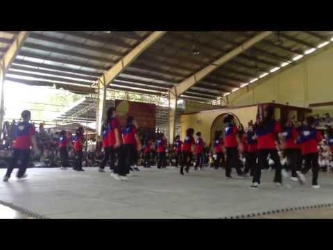 School of the Holy Spirit of Quezon City Intrams 2013 Hiraya LB Cheerdance