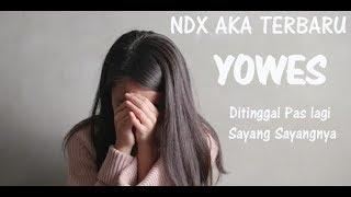 Download Mp3 Ndxaka - Yowes Single Terbaru  Ditinggal Lungo Pas Lagi Sayang Sayange