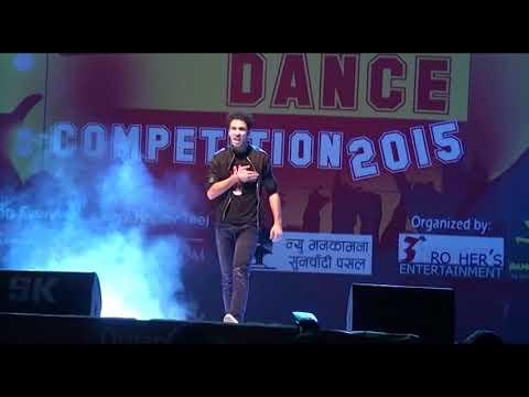 Raghav Juyal slow motion performance in Nepal
