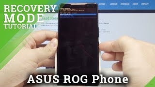 How to Enter Recovery Mode in ASUS ROG Phone - Secret Menu