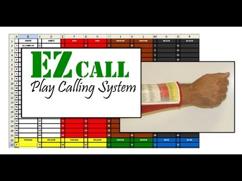 EZ call Play Calling System Overview
