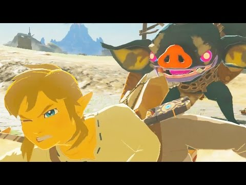 20 Minutes of Zelda Breath of the Wild Gameplay   Nintendo Switch   (no commentary)