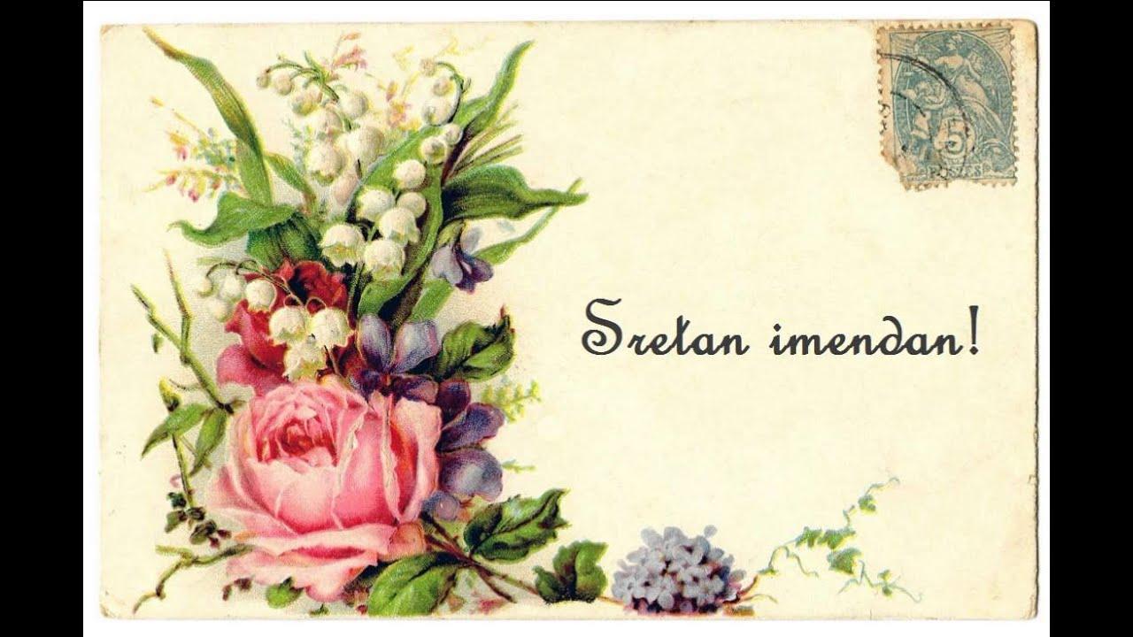 čestitke za imendan slike Sretan Imendan Mama   YouTube čestitke za imendan slike