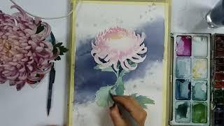 Рисование хризантемы.Что будет на МК