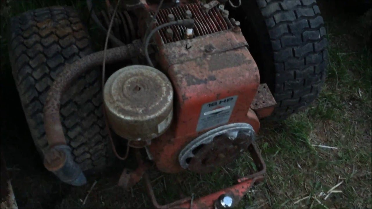 medium resolution of new gravely 8163b engine diagnosis 16hp briggs youtube minneapolis moline wiring diagrams gravely 8163b wiring diagram