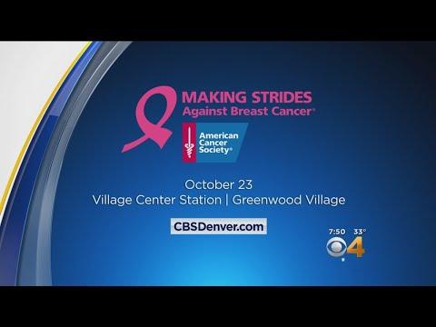 American Cancer Society Prepares For Making Strides Against Breast Cancer Walk