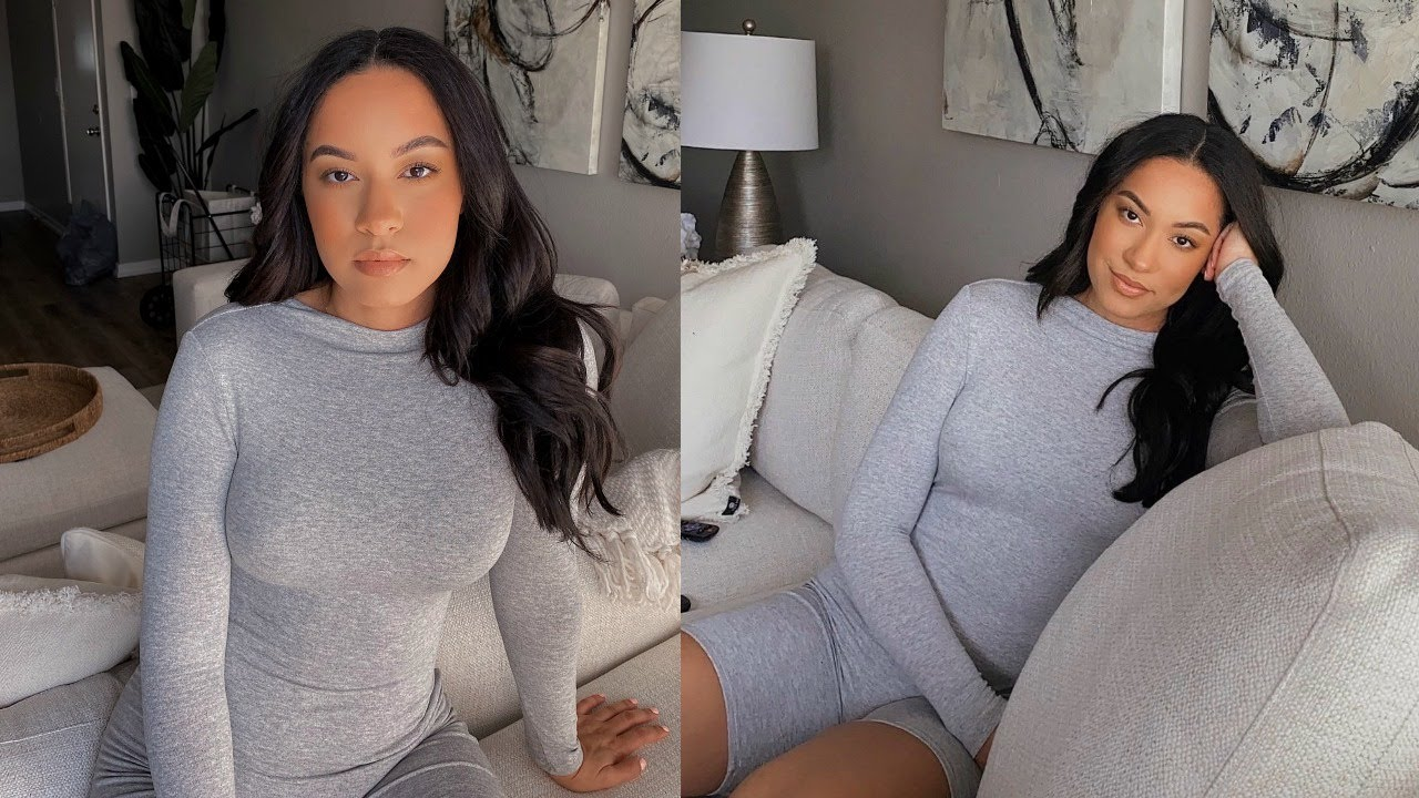 2 HOUR MAKEUP TRANSFORMATION to sit on the couch... literally | Marie Jay