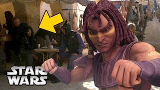 What Was Quinlan Vos Doing on Tatooine in The Phantom Menace?
