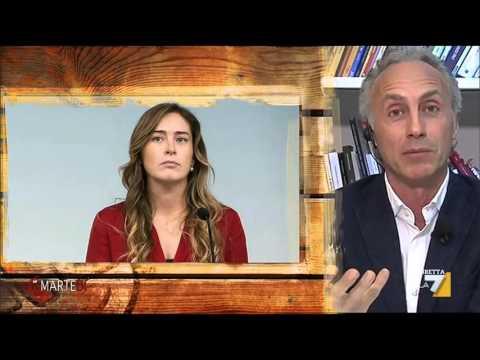 L'intervista di Floris a Marco Travaglio