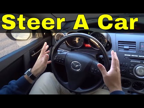 4 Ways To Steer A Car-Driving Lesson