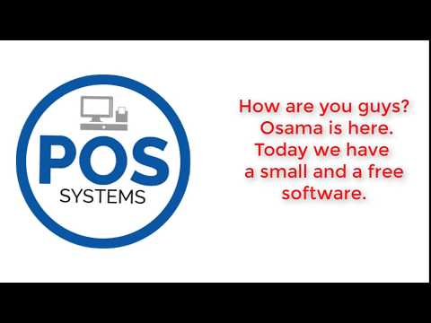 A small and a free POS software, How to start your business?
