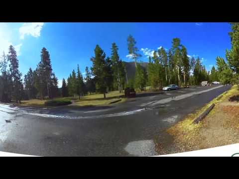 Madison Campground Yellowstone National Park 360 V by CampgroundViews
