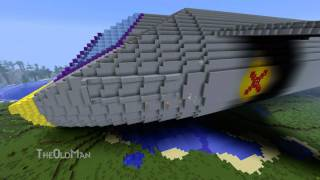 Minecraft Skyranger build Time Lapse(Download the map: http://www.mediafire.com/?tk5jmxpfb9s84ak x:142 y:88 z:142 Felt like building something big. Was looking for inspiration and decided on ..., 2011-10-08T15:08:54.000Z)