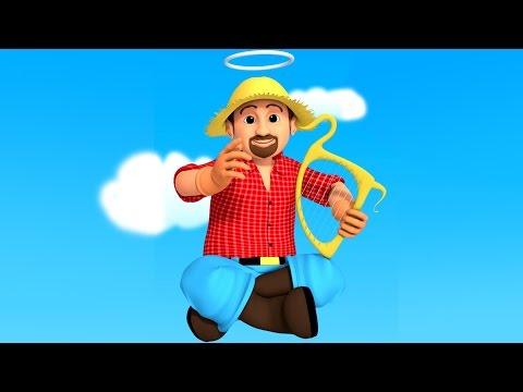 This Old Man | Nursery Rhymes | Kids Songs | Children's Rhymes | 3D Rhymes