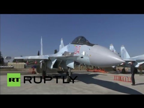 Syria: New Sukhoi Su-35S jets perform sorties from Hmeymim airbase
