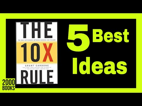 10x rule audiobook - How to 10x your success