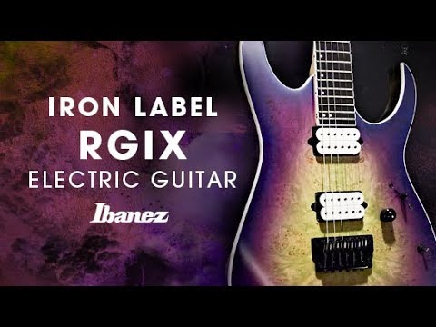 Ibanez Iron Label RGIX Electric Guitar featuring Baku Maruyama (a crowd of rebellion)