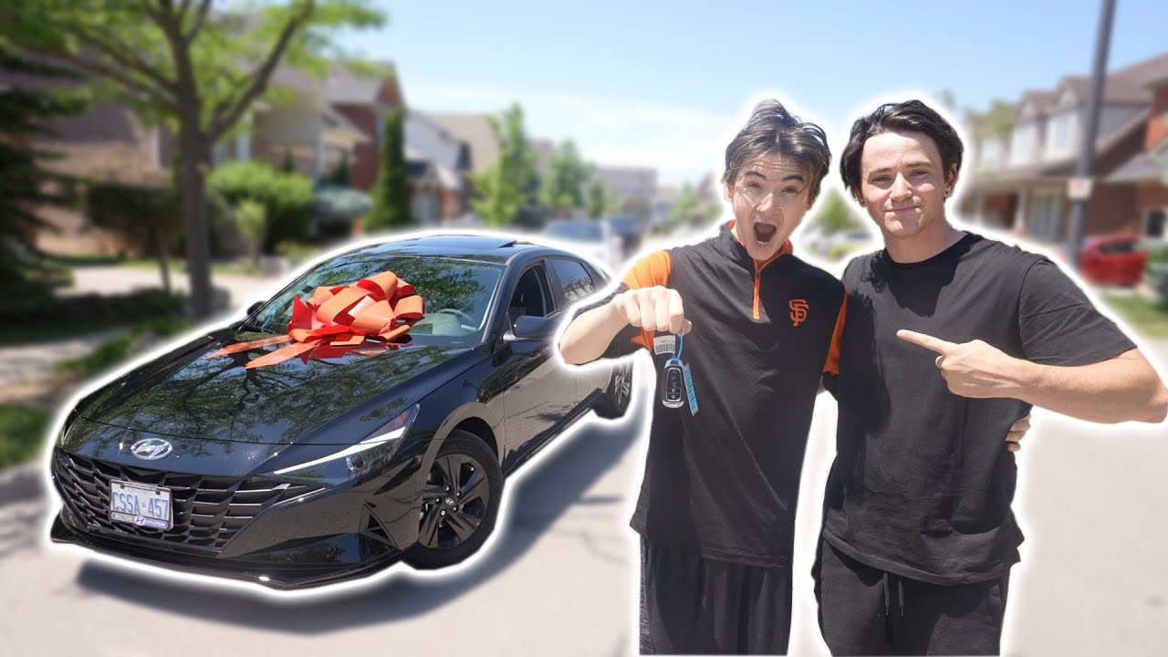 Surprising my Little Brother with his DREAM CAR!