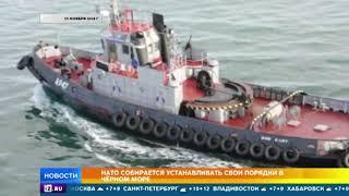 В Совфеде прокомментировали планы НАТО обеспечить проход украинских судов через Керченский пролив
