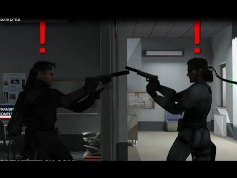 Solid Snake VS Sam Fisher - DEATH BATTLE! Short Version
