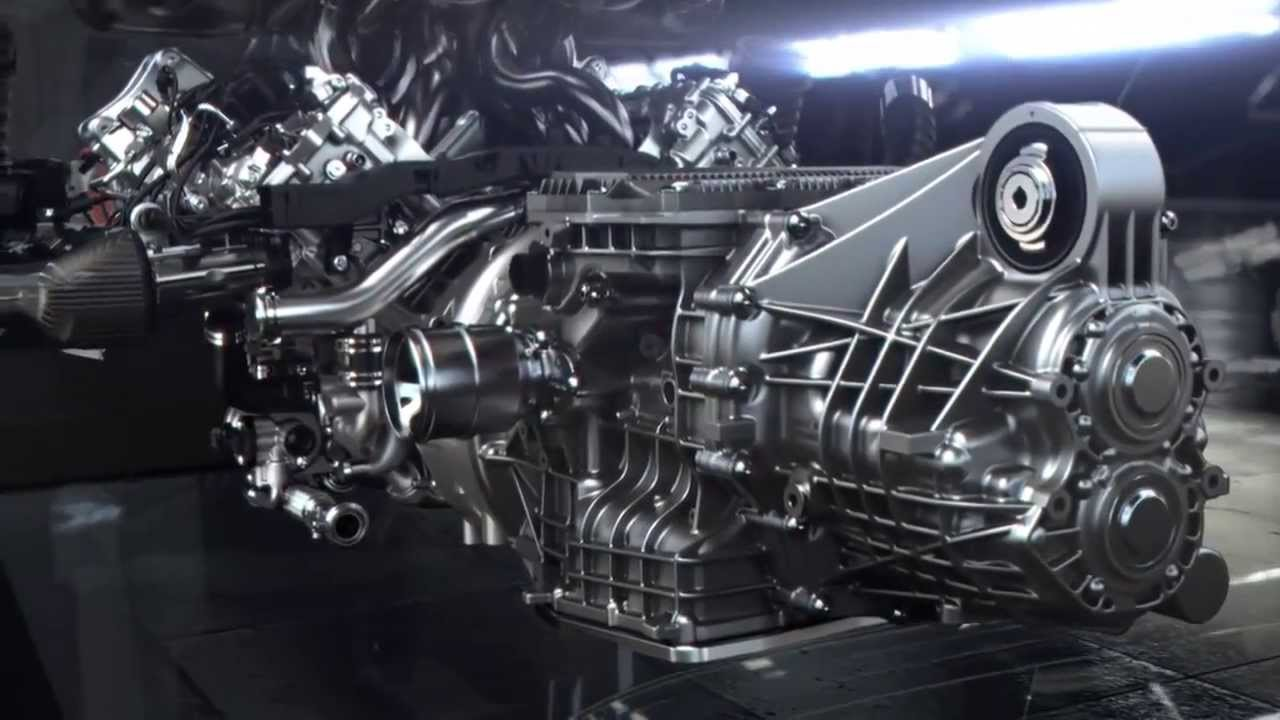 porsche 918 spyder engine technology - Porsche 918 Spyder Engine