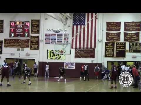 Jerome Dyson Last Second 3 Pointer in Double OT Win At Osgood Shootout 2012 Championship