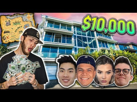 Thumbnail: $10,000 TREASURE HUNT IN CLOUT HOUSE (impossible)