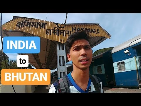INDIA TO BHUTAN | How to REACH | Solotravel Journey