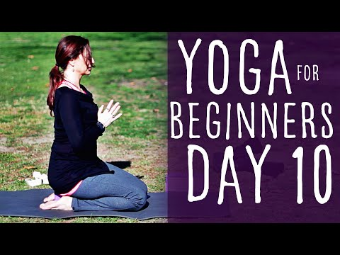 20 Minute Yoga For Beginners 30 Day Challenge Day 10