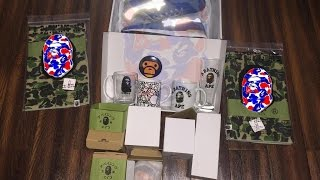 047 bape shaolin   bape   a bathing ape   unboxing   clothing   collection   outfit   pickup  review