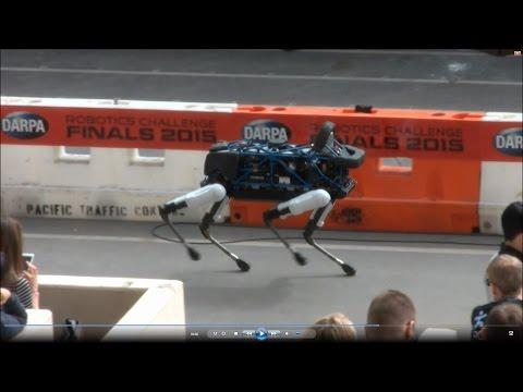 "DARPA Robotics Challenge Finals - Boston Dynamics ""Spot"""