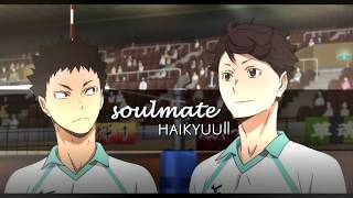 what's a soulmate? → haikyuu