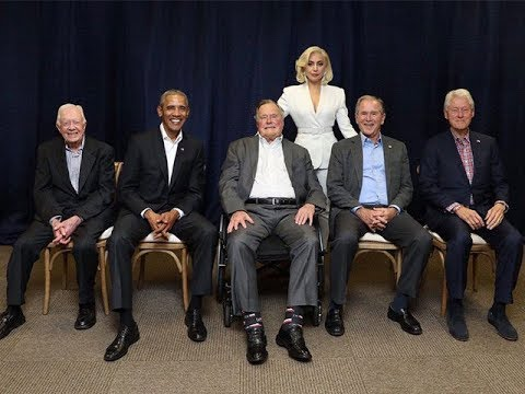 Lady GAGA Photo: Shows ANTICHRIST Scared of Jimmy Carter?