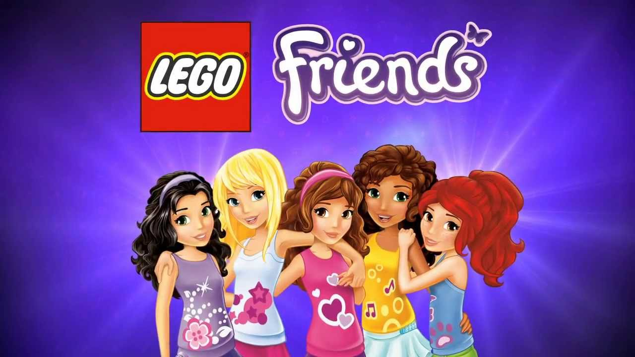 Lego Friends Video Game Meet The Friends Youtube