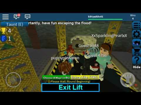 Flood escape with Aaron/ Aaron is sick!!😣😩😥