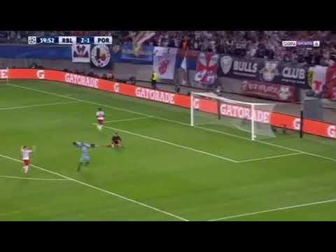 Goal Leipzig [3]-1 Porto (Augustin) UEFA Champions League 17/10/2017