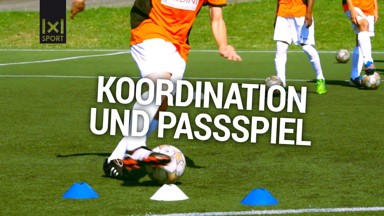 Passtraining Fur Jugend Fussballtraining Passschleife Fussballubung Mit Ingo Anderbrugge