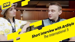 The International 2015: Short interview with ArtStyle by b2ru (ENG SUBS)