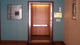 Fitchburg: Otis Hydraulic Elevator @ 435 Main Street, with INSANE Pre-Door (Classic Leveling)!