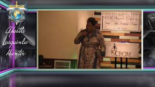 Apostle Laequinla Hunter - Don't allow the Enemy to steal your Dream and Your Drive!