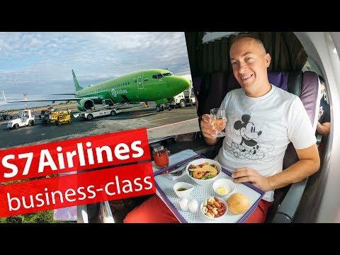 S7 Airlines Business Class   Обзор бизнес-класса