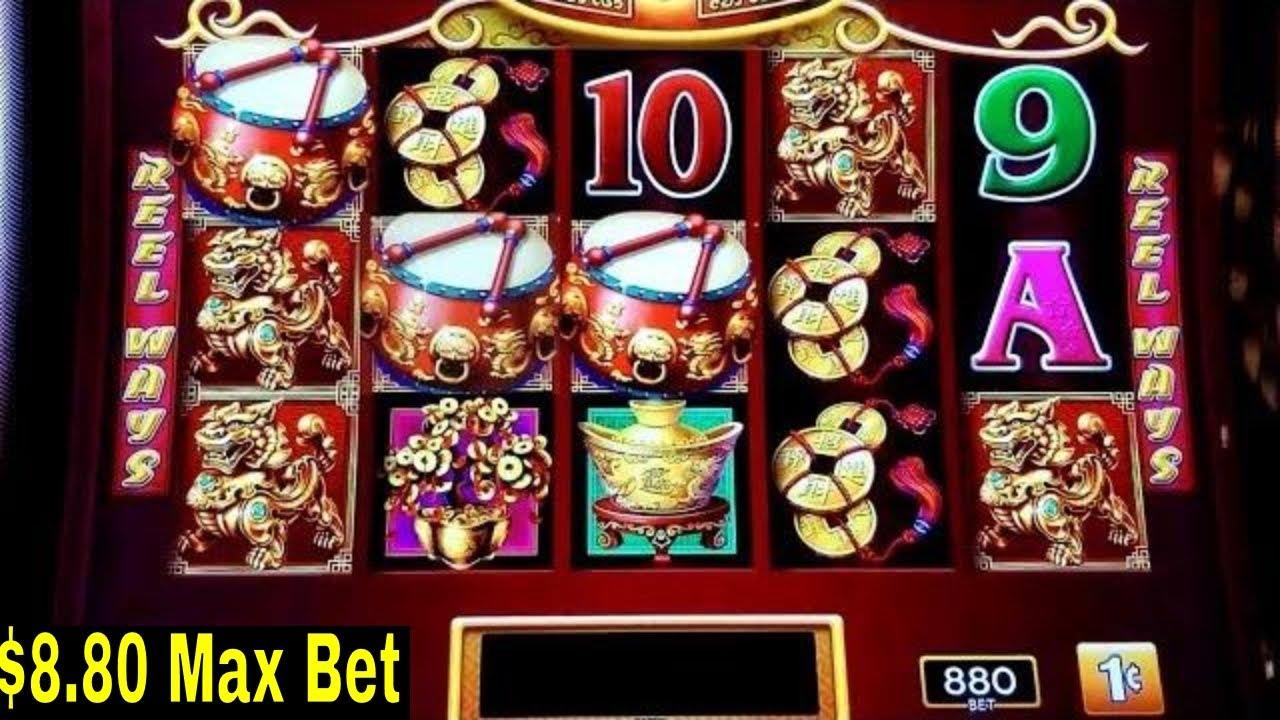 Dancing Drums Slot Machine 8 80 Max Bet Bonus Amp Buffalo