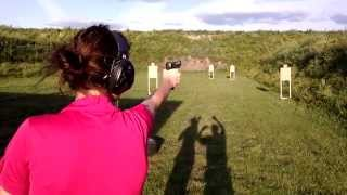Ankeny Ikes AIPS USPSA 2015-07-07 Stage 3 (CM 08-01) Danielle